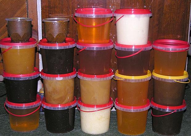 Как по цвету определить какой мёд