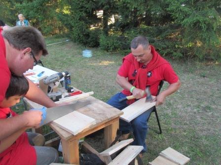Мастер-класс по изготовлению домиков для летучих мышей.
