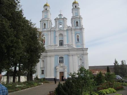 Православный храм в г. Глубокое