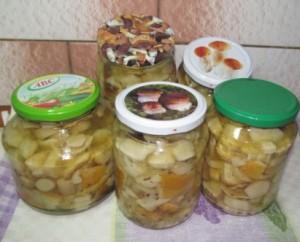 белые грибы маринованные рецепт