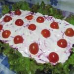 Салат сельдь под шубой оригинальная