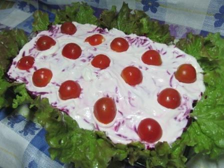 Оригинальный салат селедка под шубой фото