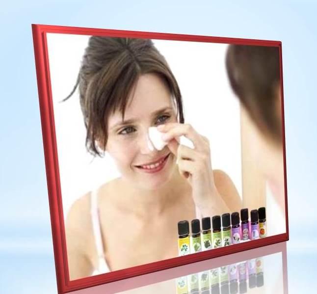 уход за кожей лица с эфирными маслами