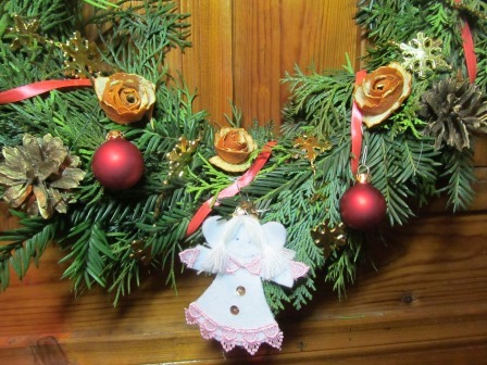 Ангел на Рождетвенском венке