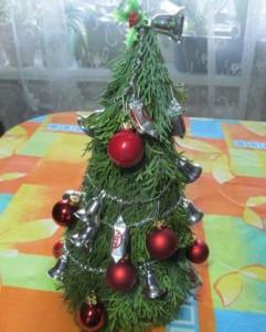 оригинальные новогодние елки своими руками