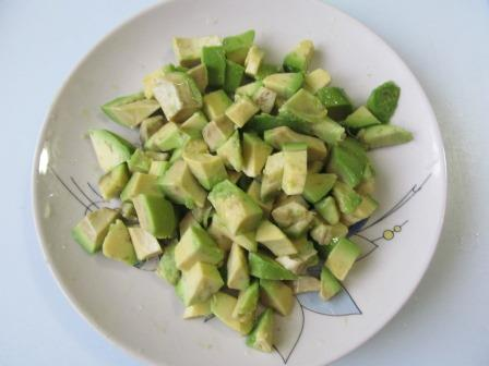 простой салат с авокадо рецепт