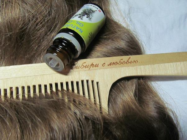 масло можжевельника для волос