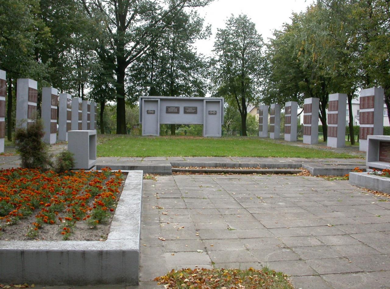 Памятник в Вишкавишкис