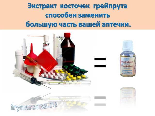 экстракт грейпфрутовых косточек цитросепт