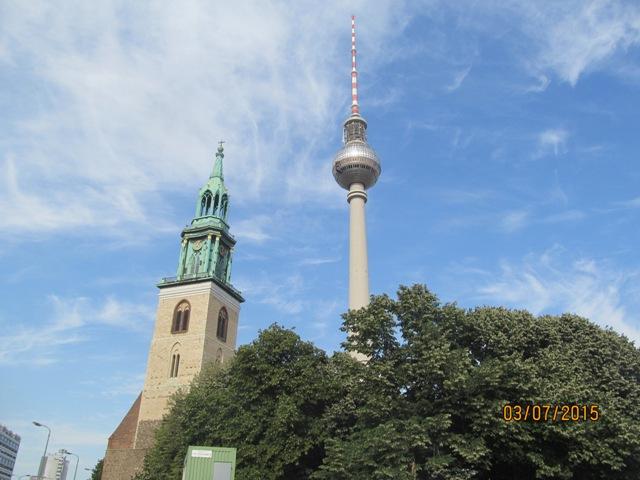 Берлин Церковь Святого Николая