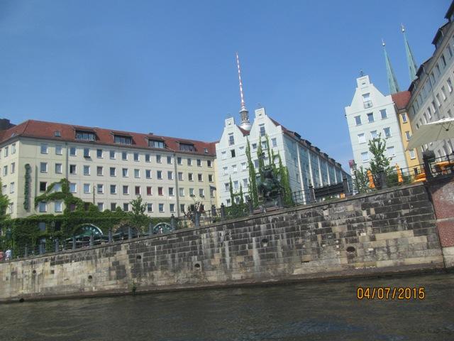 Берлин, экскурсия по Шпрее