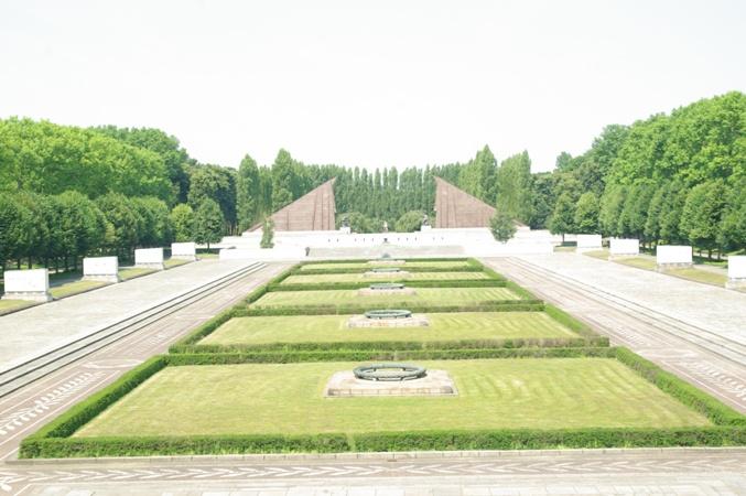 мемориал в трептов-парке