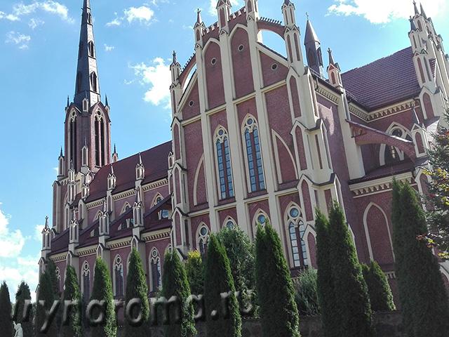 Троицкий костел в Гервятах