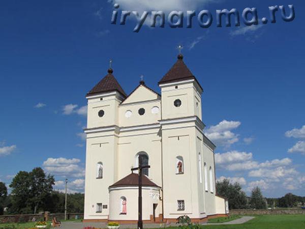Костел в Михалишках.