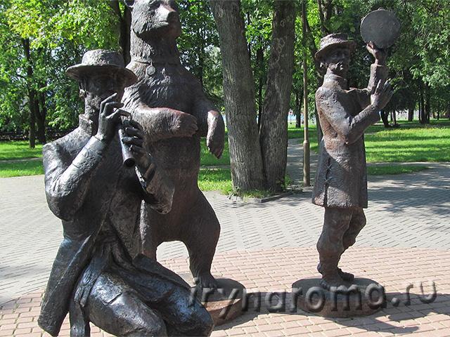 скульптура медвежья школа